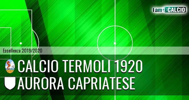 Calcio Termoli 1920 - Aurora Alto Casertano