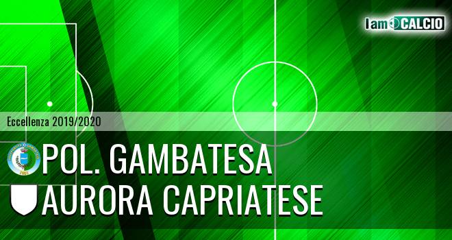 Polisportiva Gambatesa - Aurora Alto Casertano