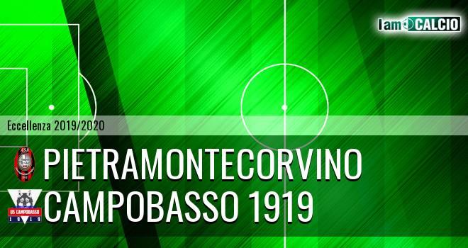 Pietramontecorvino - Campobasso 1919