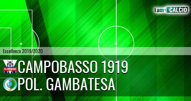 Campobasso 1919 - Pol. Gambatesa