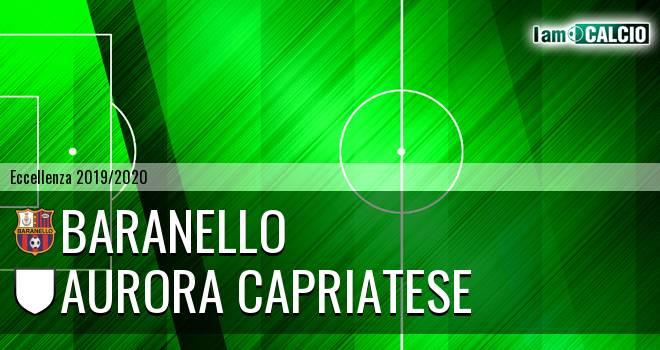 Baranello - Aurora Alto Casertano