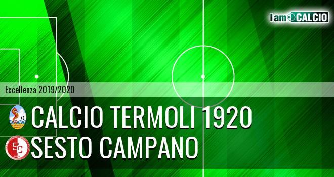 Calcio Termoli 1920 - Sesto Campano