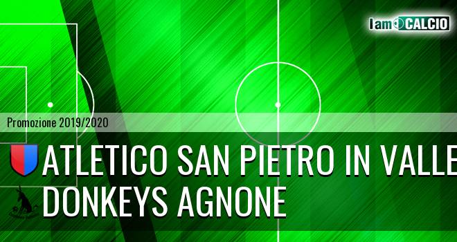 Atletico San Pietro in Valle - Donkeys Agnone