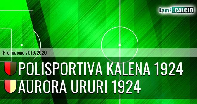 Polisportiva Kalena 1924 - Aurora Ururi 1924