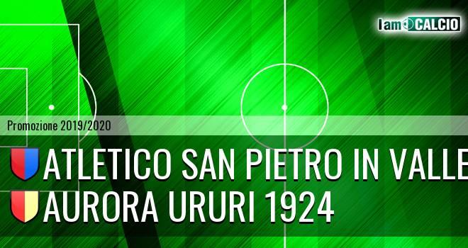 Atletico San Pietro in Valle - Aurora Ururi 1924