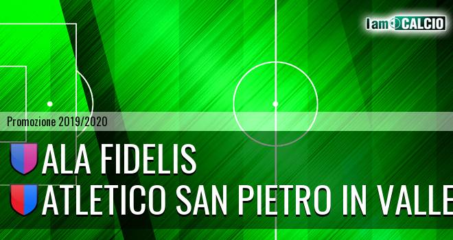 Ala Fidelis - Atletico San Pietro in Valle