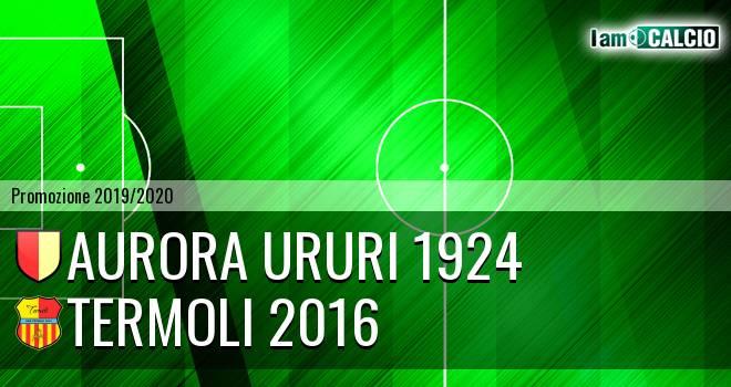 Aurora Ururi 1924 - Termoli 2016
