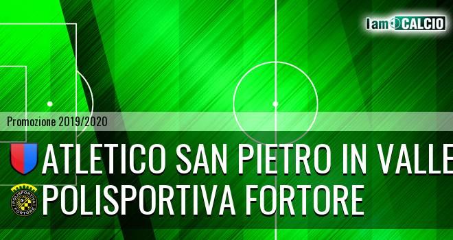 Atletico San Pietro in Valle - Polisportiva Fortore
