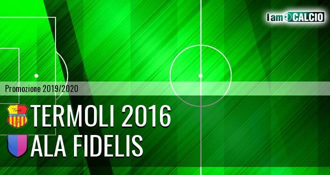 Termoli 2016 - Ala Fidelis