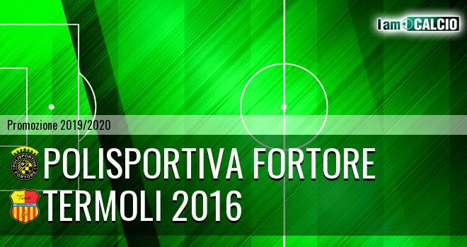 Polisportiva Fortore - Termoli 2016