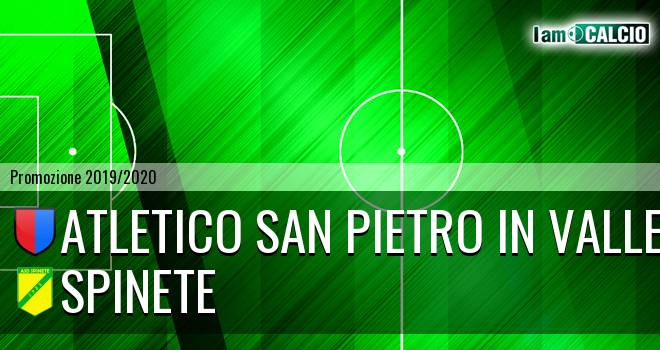Atletico San Pietro in Valle - Spinete