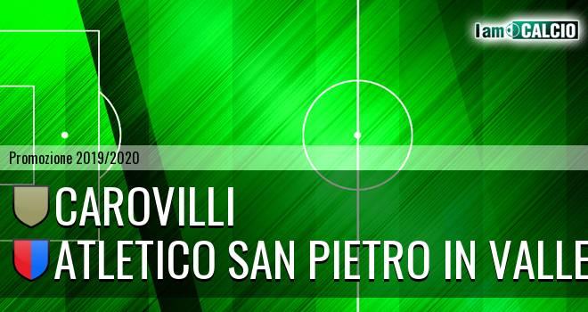 Carovilli - Atletico San Pietro in Valle