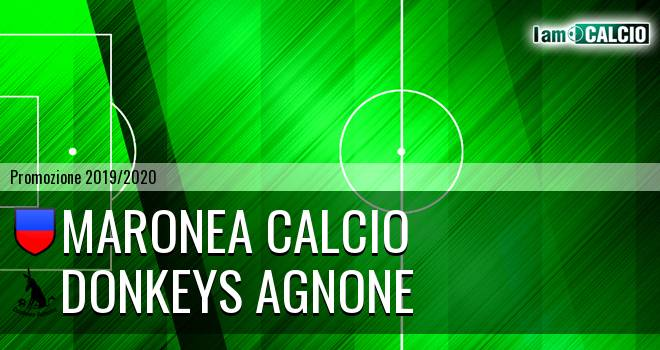 Maronea Calcio - Donkeys Agnone