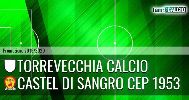 Torrevecchia Calcio - Castel di Sangro CEP 1953