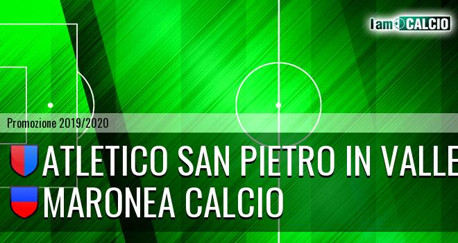 Atletico San Pietro in Valle - Maronea Calcio