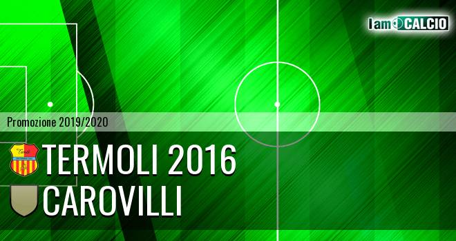 Termoli 2016 - Carovilli