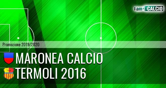 Maronea Calcio - Termoli 2016