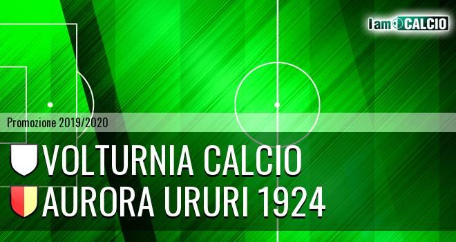Volturnia Calcio - Aurora Ururi 1924