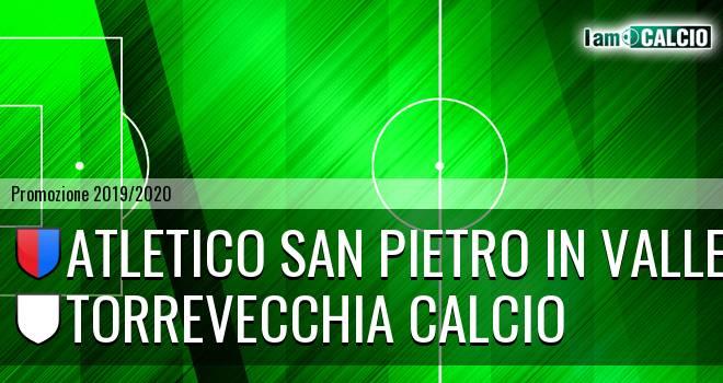 Atletico San Pietro in Valle - Torrevecchia Calcio