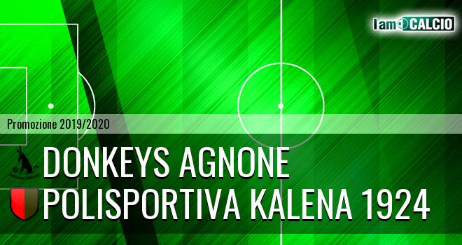 Donkeys Agnone - Polisportiva Kalena 1924