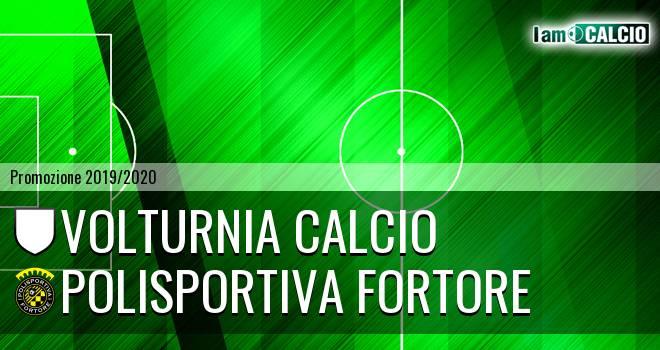 Volturnia Calcio - Polisportiva Fortore