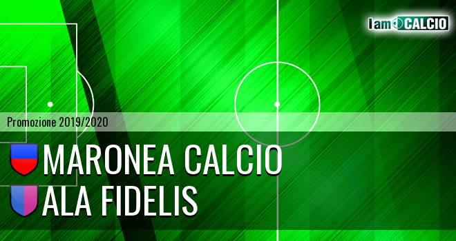 Maronea Calcio - Ala Fidelis