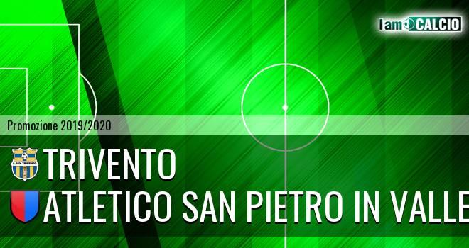 Trivento - Atletico San Pietro in Valle