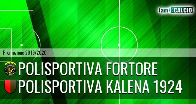 Polisportiva Fortore - Polisportiva Kalena 1924