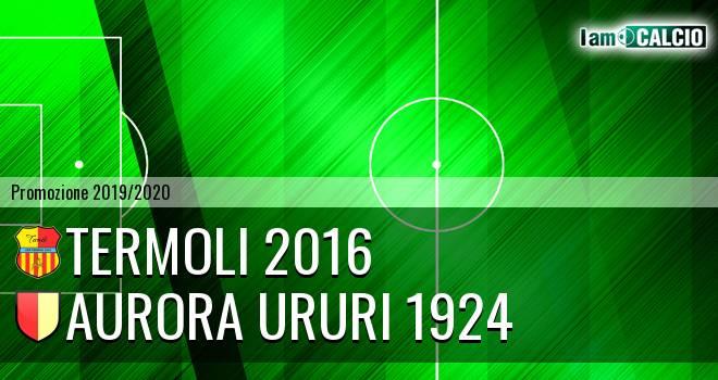 Termoli 2016 - Aurora Ururi 1924