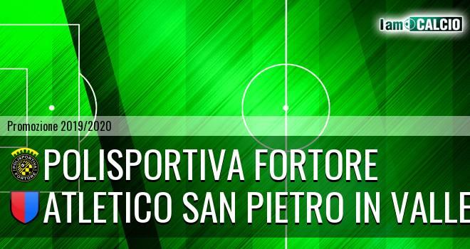 Polisportiva Fortore - Atletico San Pietro in Valle