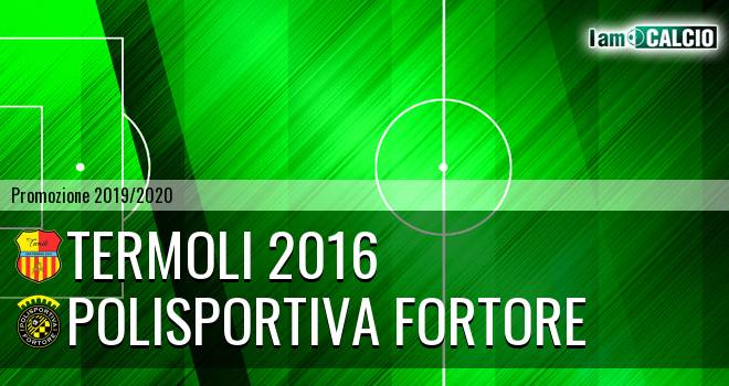 Termoli 2016 - Polisportiva Fortore