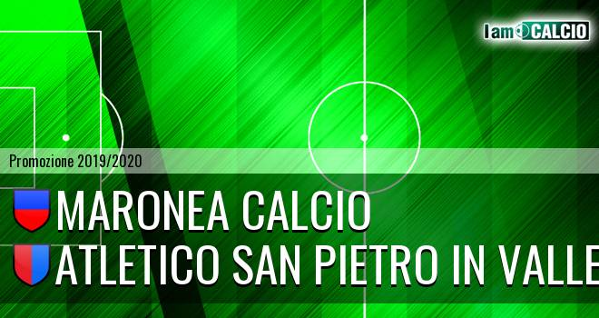 Maronea Calcio - Atletico San Pietro in Valle