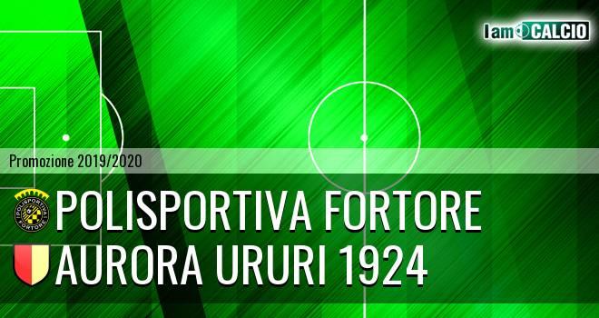 Polisportiva Fortore - Aurora Ururi 1924