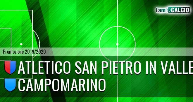 Atletico San Pietro in Valle - Campomarino