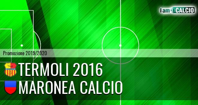 Termoli 2016 - Maronea Calcio