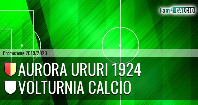 Aurora Ururi 1924 - Volturnia Calcio