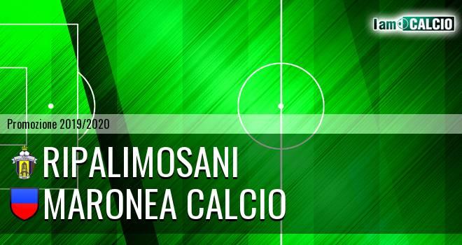 Ripalimosani - Maronea Calcio