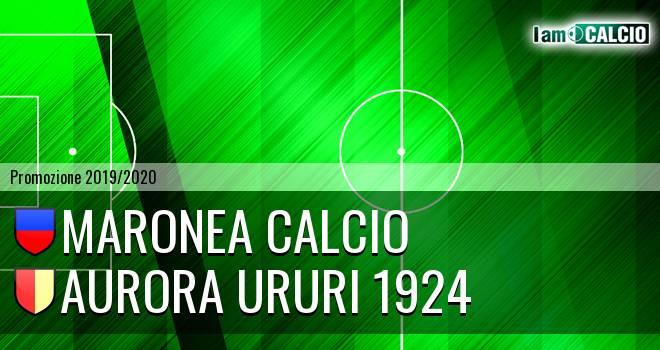 Maronea Calcio - Aurora Ururi 1924
