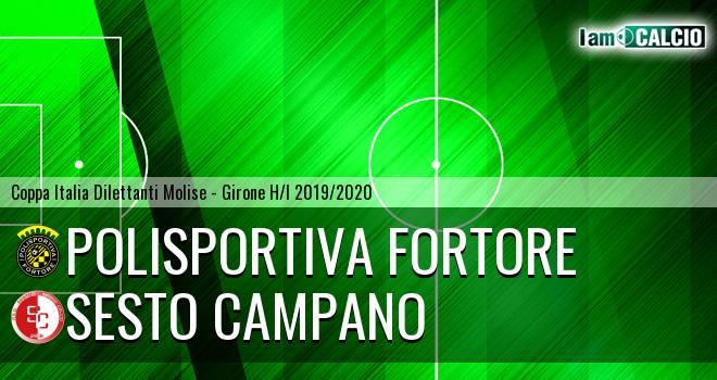 Polisportiva Fortore - Sesto Campano