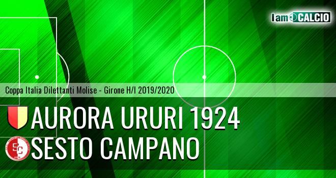 Aurora Ururi 1924 - Sesto Campano