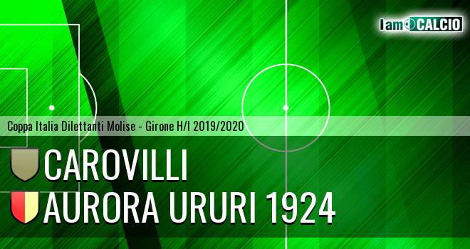 Carovilli - Aurora Ururi 1924