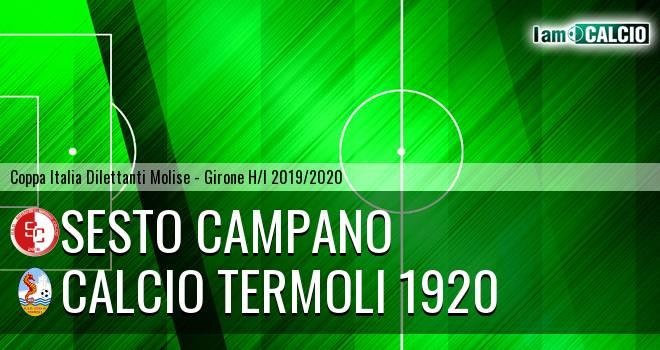 Sesto Campano - Calcio Termoli 1920