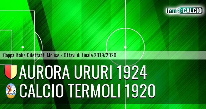 Aurora Ururi 1924 - Calcio Termoli 1920