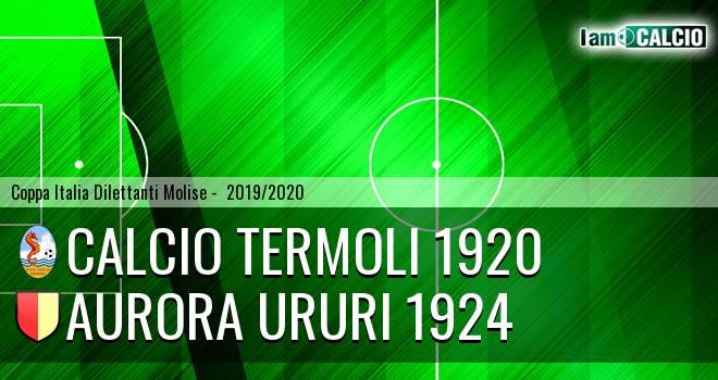 Calcio Termoli 1920 - Aurora Ururi 1924