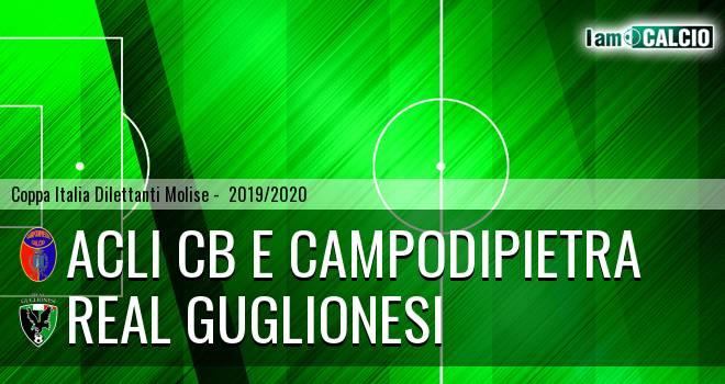Acli Cb e Campodipietra - Real Guglionesi 5-0. Cronaca Diretta 18/12/2019
