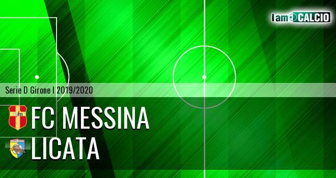 FC Messina - Licata