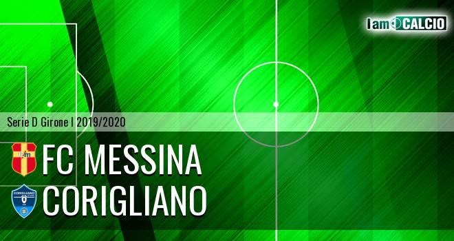 FC Messina - Corigliano