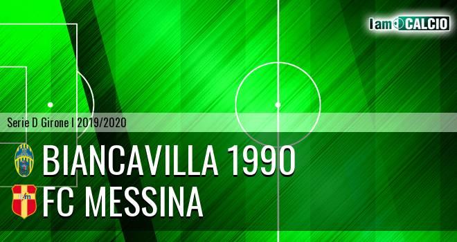 Biancavilla 1990 - FC Messina