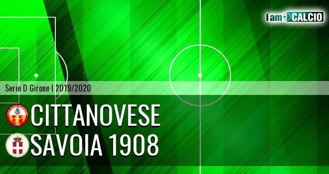 Cittanovese - Savoia 1908
