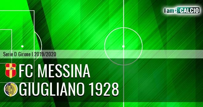 FC Messina - Giugliano 1928